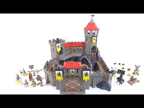 Playmobil Lion Knight's Empire Castle review! set 4865