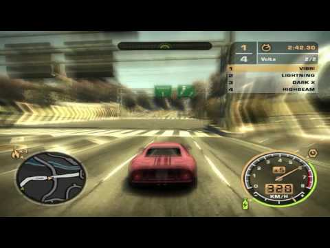 Nfs Most Wanted Ford Gt Velocidade Maxima Km
