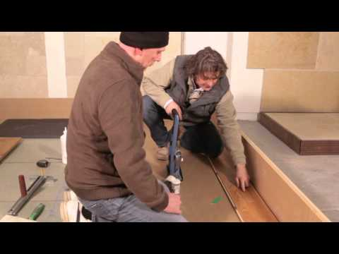 How To Use Secret Nailing When Laying Wooden Flooring from www.StoneandWoodShop.co.uk