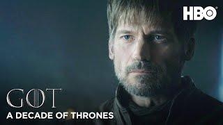 A Decade of Game of Thrones |  Nikolaj Coster-Waldau on Jaime Lannister (HBO)