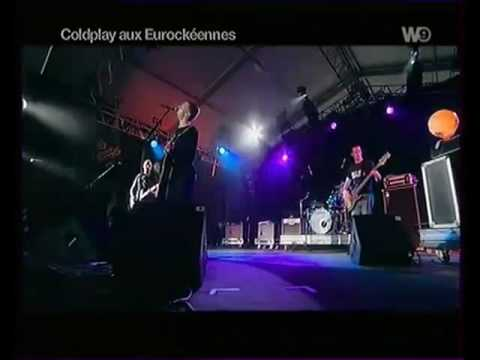 Coldplay live Bigger Stronger 2000