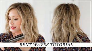 Bent Waves Hair Tutorial