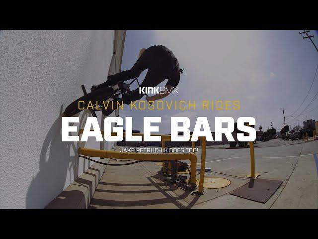 """Видео Руль KINK Eagle 29.5"""" x 9.5"""" черный"""