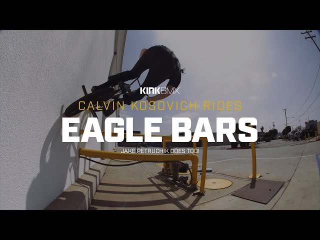 "Видео Руль KINK Eagle 29.5"" x 9"" хромированный"