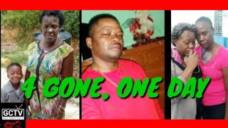 4 R.I.P, ONE DAY, WESTERN JAMAICA - They Took Her Head Off (GCTV)