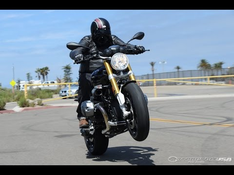 2014 BMW R nineT First Ride - MotoUSA