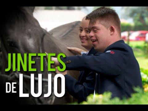 Watch videoJinetes con síndrome de down que representarán a Colombia en Mundial de Abu Dhabi