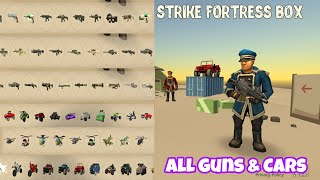 STRIKE FORTRESS BOX GAME  || ALL GUNS AND CARS UNLOCKED