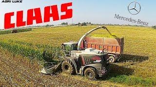 Claas Jaguar 999   Orbis 750   Mercedes Truck   John Deere 8400   Maize Silage
