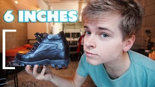 I Wore Height Increasing Shoes For A Week (and this is what happened)
