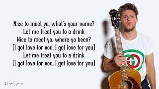 Niall Horan   Nice To Meet Ya (Lyrics) 🎵
