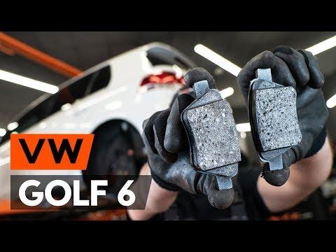 Wie VW GOLF 6 (5K1) Bremsbeläge hinten wechseln [TUTORIAL AUTODOC]