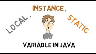 20-Local, Instance and Static Variables in Java