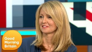Esther McVey Apologises for Universal Credit Controversy | Good Morning Britain