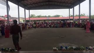 Flash Mob - Sambutan Hari Raya 2018 SMKTelokPanglimaGarang - Panglima Tari