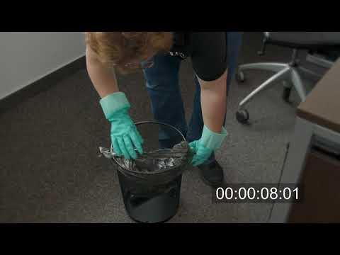 7 Sekunden pro Müllbeutel sparen - Tipps für die Gebäudereinigung | DEISS