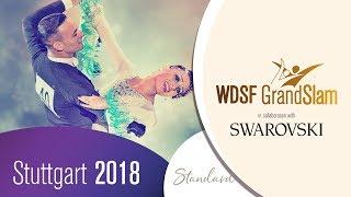 Glukhov - Glazunova, RUS | 2018 GS STD Stuttgart | R3 Q | DanceSport Total