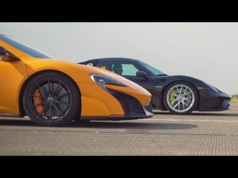 McLaren 675LT vs Porsche 918 SPYDER - What Does Another Half A Million Get You?