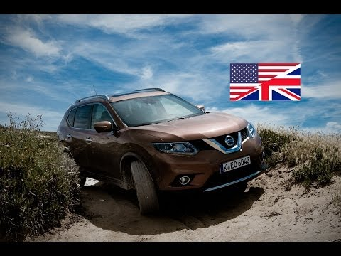 2014 Nissan X-trail 1.6 dCI - Start Up, Exhaust, Test Drive, and In-Depth Review (English)