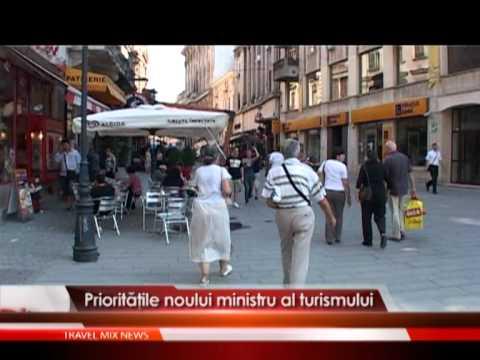 Priorităţile noului ministru al turismului