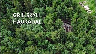 Grillskýli í Haukadal