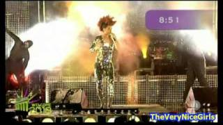 Eva Simons - Silly Boy + Love To The World - live Sylvester 2009 Germany
