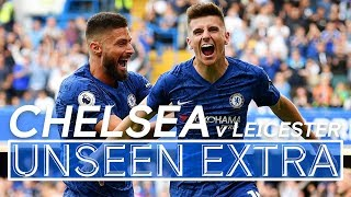 Mason Mount's First Chelsea Goal! ⚽️| Chelsea 1-1 Leicester | Unseen Extra