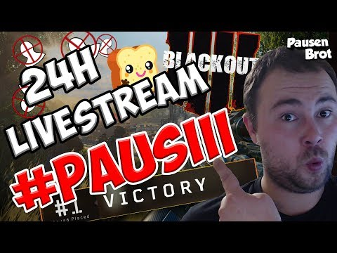 24 STUNDEN STREAM - Call of Duty Black OPs 4 Blackout Live Stream - COD BO4 Deutsch PS4