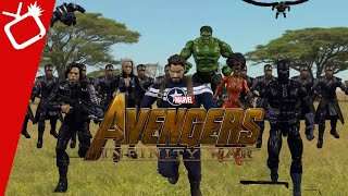 Avengers Infinity War Trailer In Stop Motion