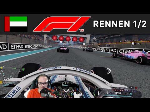 Der Große Preis von Abu Dhabi 🎮 F1 2018 Karriere #40