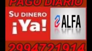 preview picture of video 'ALFA PAGO DIARIO en Catriel,Rio Negro,voz Hector Rossi,de Intrusos.'