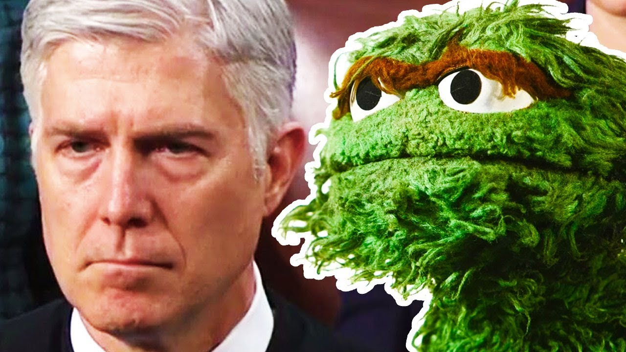 STATE OF THE UNION 2018: Gorsuch The Grouch Introduced thumbnail