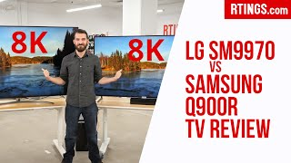 Video: LG SM9970 vs Samsung Q900R: 8K TV Review
