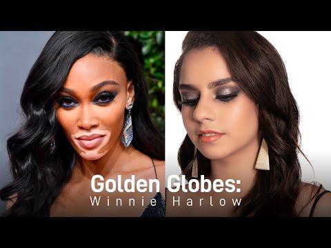 Golden Globes: Winnie Harlow | Celebrity Inspired | MyGlamm
