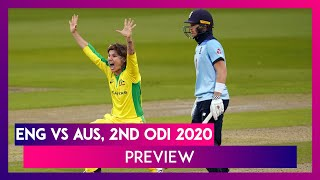 ENG vs AUS, 2nd ODI 2020 Preview & Playing XIs: Australia Eye Series Victory  IMAGES, GIF, ANIMATED GIF, WALLPAPER, STICKER FOR WHATSAPP & FACEBOOK