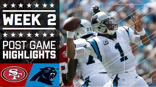49ers vs. Panthers | NFL Week 2 Game Highlights