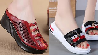 AMAZING SHOES FASHION FOOTWEAR DESIGN SANDAL SHOES COLLECTION FOR LADIES NEW LATEST STYLISH BOOTS