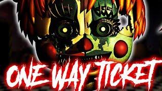 """""""One Way Ticket"""" - FNaF Song by NateWantsToBattle [FNAF"""