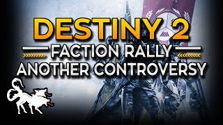 Bungie messes up again with the Destiny 2 Faction Rally Controversy