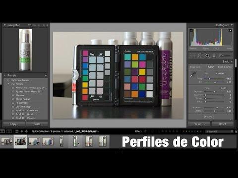 Calibración y Perfiles de Color para Fotografía