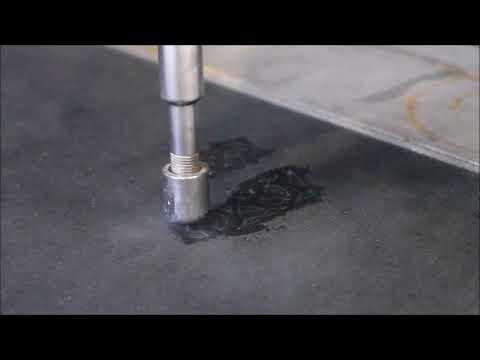 LABJET Découpe de cuir à l'eau pure