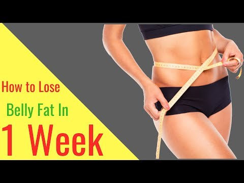 Video How to Lose Belly Fat in 1 Week