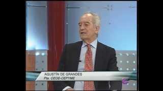AGUSTÍN DE GRANDES PRESIDENTE CEOE CEPYME