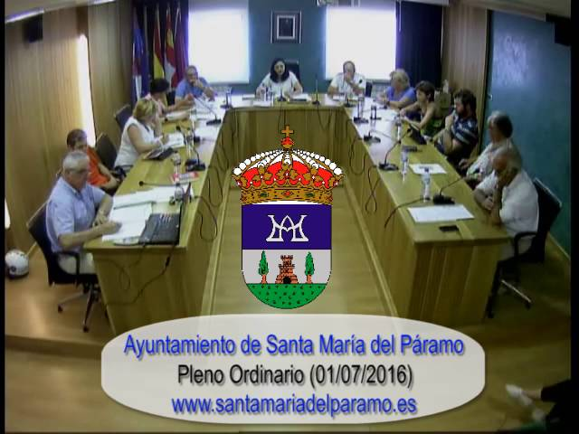 Pleno Ordinario 01-07-2016