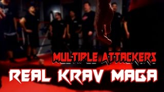Krav Maga NJ - REAL Krav Maga Training - Fight Multiple Attackers Drills - Official Krav Maga