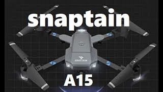 SNAPTAIN A15 Foldable FPV Drone Voice Control 120° Wide Angle 720P HD Camera Flight Review