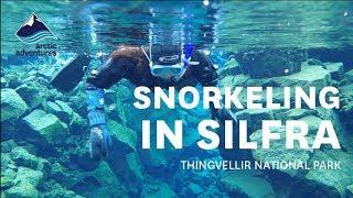 Dive Silfra, Iceland