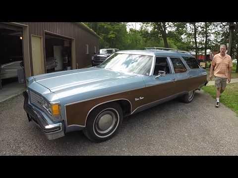 Dave's 1976 Oldsmobile Custom Cruiser station wagon