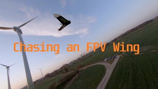FPV Wing Chase | FPV Freestyle | MaxxCue