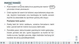 Eğitim Vadisi AYT Edebiyat 17.Föy Hikaye 2 Konu Anlatım Videoları